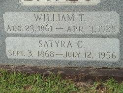 """Satyra Cornelia """"Tyra"""" <I>Ivy</I> Bates"""