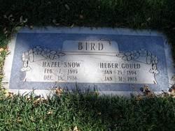 Hazel <I>Snow</I> Bird