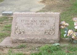 Etta Mae <I>Howard</I> Moore