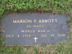 Marion F Abbott