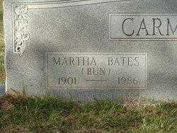 "Martha Ermille ""Bun"" <I>Bates</I> Carmody"