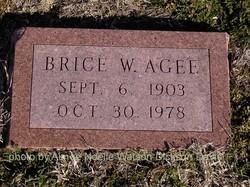 Brice W. Agee
