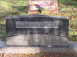 Clara Louise <I>Schelper</I> Allmandinger