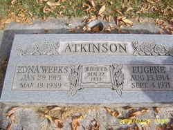 Edna <I>Weeks</I> Atkinson