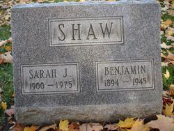 Benjamin Shaw
