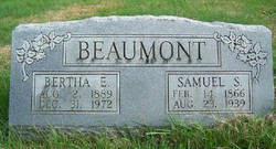 Bertha E <I>Ray</I> Beaumont