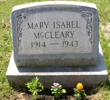Mary Isabel <I>Snyder</I> McCleary