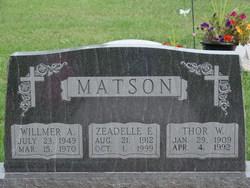Zeadelle E <I>Samuelson</I> Matson