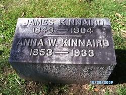 Anna W <I>Bowman</I> Kinnaird