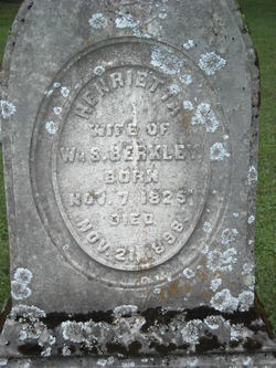 Henrietta <I>Kirtley</I> Berkley