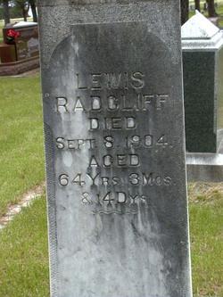 Lewis Radcliff, Sr