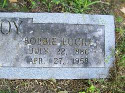 Bobbie Lucille <I>Allen</I> McElroy
