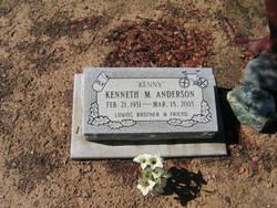 Kenneth M Anderson