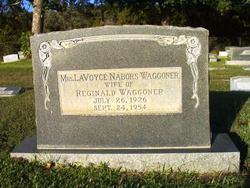 Mrs Verda LaVoyce <I>Nabors</I> Waggoner