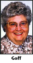 Betty A. <I>Berkes</I> Goff