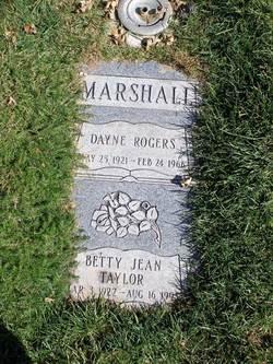Dayne Rogers Marshall