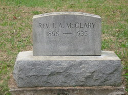 Rev Isaac Anderson McClary