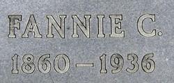 Fannie Katherine <I>Daniels</I> Brigham