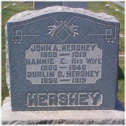 Nannie Ellen <I>Carl</I> Hershey