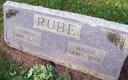 Maude <I>Bennett</I> Rube