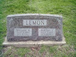 Bertha Pearl <I>Behner</I> Lemon