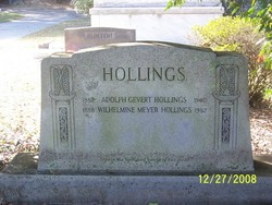 Adolph Gevert Hollings Sr.