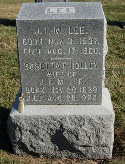 Rosetta E. <I>Holley</I> Lee