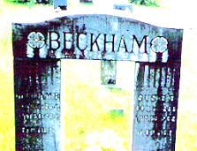 Susan Susie Elizabeth <I>Casey</I> Beckham