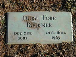 Dora <I>Fore</I> Buckner