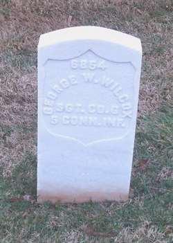 Sgt George W. Wilcox