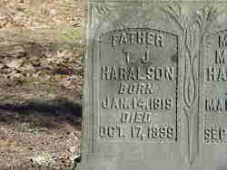 Thomas Jefferson Haralson, Sr