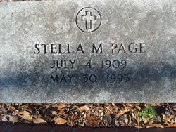 Stella M <I>Burel</I> Page