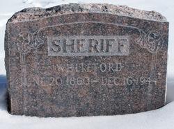 Whiteford Sheriff