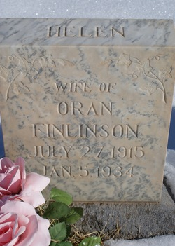 Helen <I>Walker</I> Finlinson