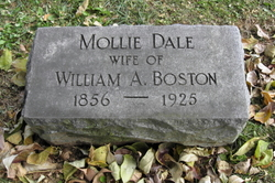 Mollie <I>Dale</I> Boston