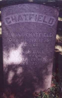 Hannah <I>Ball</I> Chatfield