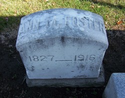 Anna Maria <I>Olmsted</I> Foster
