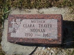 Clara <I>Thayer</I> Noonan