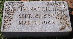 Elvina <I>Lang</I> Teich