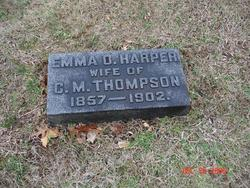 Emma O <I>Harper</I> Thompson