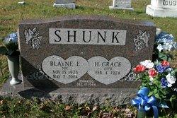 "Blayne Edward ""Doc"" Shunk"