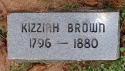"""Kizziah """"Kissey"""" <I>Hooper</I> Brown"""