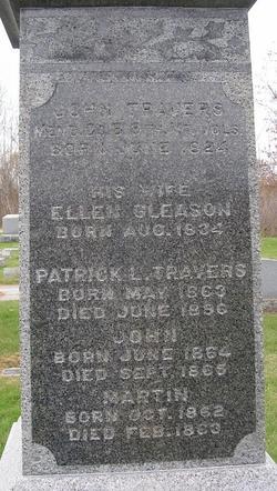 Ellen <I>Gleason</I> Travers