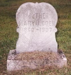 Mary Jane <I>Pittman</I> Coen
