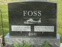 Dr Frank Edward Foss