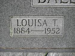 Louisa <I>Tankersley</I> Ballard