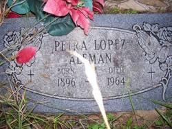 Petra <I>Lopez</I> Aleman