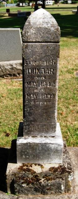 Elizabeth H <I>Stone</I> Dunbar