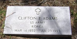Clifton T. Adams