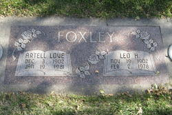 Artell <I>Love</I> Foxley